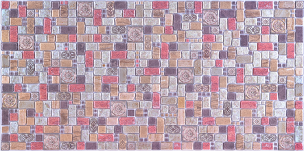 Plastový panel Mosaic Cinnamone Travertine